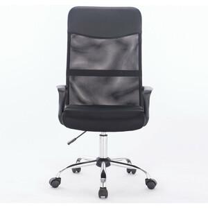 Кресло Brabix Tender MG-330 с подлокотниками, хром черное