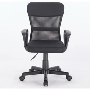 Кресло Brabix Jet MG-315 с подлокотниками, черное стул с подлокотниками kiro fog