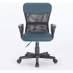 Кресло Brabix Jet MG-315 с подлокотниками, синее стул с подлокотниками kiro fog