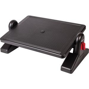 Подставка для ног BRAUBERG Офисная с фиксаторами, черная 530364