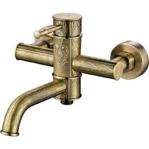 Смеситель для ванны Kaiser Milos комплект, бронза Bronze (51022-1An)