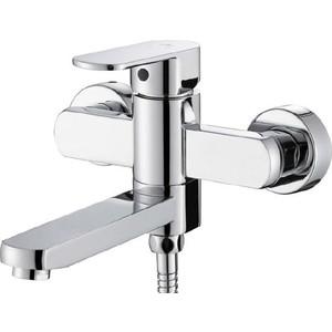 Смеситель для ванны Kaiser Sonat с душем, хром (34022-L) смеситель для ванны коллекция sonat 34022 однорычажный хром kaiser кайзер