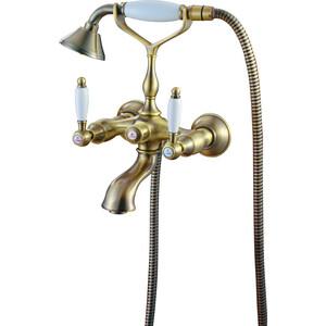 Смеситель для ванны Kaiser Vincent Bronze хром (31022-1/31044)