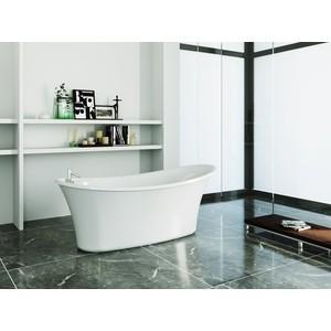 Фото - Акриловая ванна BelBagno 167x75 слив-перелив хром (BB302 + BB39-OVF-CRM) акриловая ванна belbagno 167x75 bb304