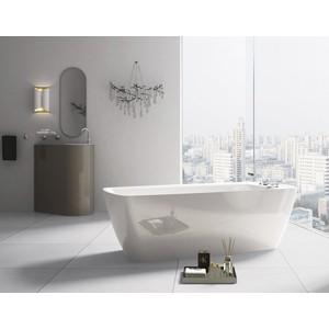 Фото - Акриловая ванна BelBagno 167x75 слив-перелив хром (BB304 + BB39-OVF-CRM) акриловая ванна belbagno 167x75 bb304