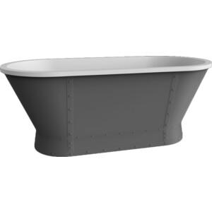 Акриловая ванна BelBagno 167,6x78 слив-перелив бронза (BB35-CF36 + BB39-OVF-BRN + BB39-T-BRN) цена 2017