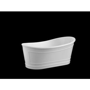 Акриловая ванна BelBagno 167,6x90 слив-перелив золото (BB32 + BB39-OVF-ORO BB39-TC-ORO)