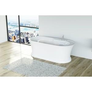 Акриловая ванна BelBagno 168,6x81,3 слив-перелив золото (BB300 + BB39-OVF-ORO BB39-TC-ORO)