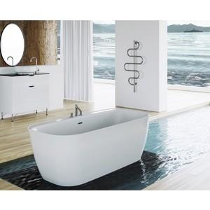 Акриловая ванна BelBagno 160x80 слив-перелив золото (BB303 + BB39-OVF-ORO BB39-T-ORO)