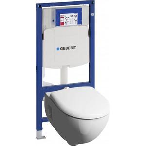 Комплект Geberit Renova Nr.1 Rimfree, унитаз с сиденьем микролифт, инсталляция (111.300.00.5-20307)