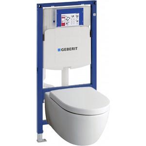 Комплект Geberit iCon Rimfree, унитаз с сиденьем микролифт, инсталляция (111.300.00.5-20406)