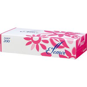 Салфетки бумажные Kami Shodji ELLEMOI 2 слоя 200 шт в пачке
