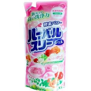 Гель для стирки MITSUEI с ароматом роз (запаска) 800 мл листы для стирки озон с ароматом свежей стирки