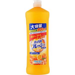 Средство для мытья посуды и фруктов MITSUEI с ароматом апельсина, концентрат 800 мл