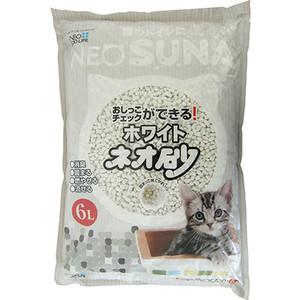 Наполнитель Neo Loo Life Suna комкующийся контроль состояния здоровья животного (смываемый в канализацию) для кошек 6л