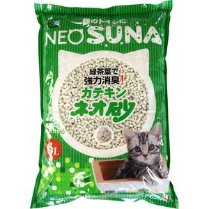 Наполнитель Neo Loo Life Suna комкующийся с экстрактом зеленого чая для кошек 6л