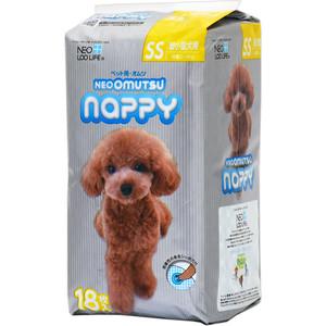 Подгузники Neo Loo Life Neo Omutsu Nappy размер SS для собак весом 2-4кг 18шт chic long sleeve printed waist bandage bodycon dress for women