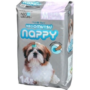 Подгузники Neo Loo Life Omutsu Nappy размер М для собак 5-8кг 14 шт
