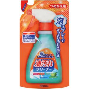 Жироудалитель Nihon Detergent спрей-пена для кухни, (запаска) 350 мл