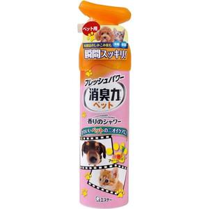 Освежитель воздуха ST Shoushuuriki против запаха домашних животных с ароматом фруктового сада 280 мл