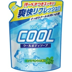 Гель для душа WINS Cool освежающий с ментолом (запаска) 400 мл