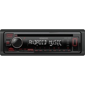 Автомагнитола Kenwood KDC-153R автомагнитола cd kenwood kdc 153r 1din 4x50вт