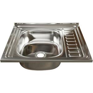 Кухонная мойка Mixline 60x50 нержавеющая сталь 0,4мм (4640030862405)
