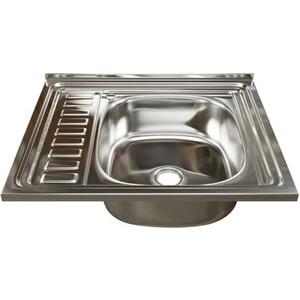Кухонная мойка Mixline 60x50 нержавеющая сталь 0,4мм (4640030862412)