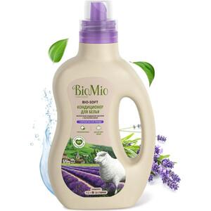 Кондиционер BioMio BIO-SOFT Лаванда 1 л кондиционер для белья экологичный bio mio концентрат bio soft с эфирным маслом корицы 1 5л