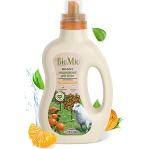 Кондиционер BioMio BIO-SOFT Мандарин 1 л кондиционер для белья экологичный bio mio концентрат bio soft с эфирным маслом корицы 1 5л