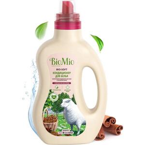 Кондиционер BioMio BIO-SOFT Корица 1 л кондиционер для белья экологичный bio mio концентрат bio soft с эфирным маслом корицы 1 5л