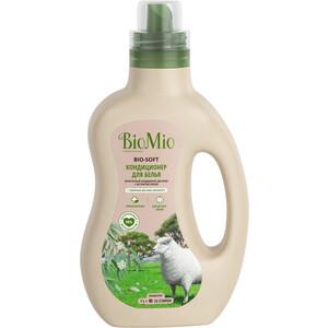 Кондиционер BioMio BIO-SOFT Эвкалипт 1 л кондиционер для белья экологичный bio mio концентрат bio soft с эфирным маслом корицы 1 5л