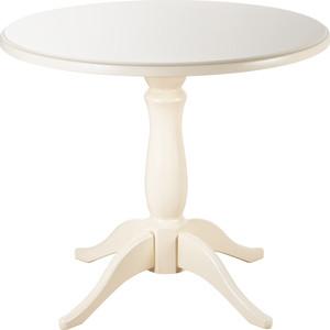 Стол обеденный Мебелик Мауро слоновая кость 90x90 цена и фото
