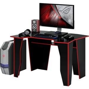 Стол компьютерный Мастер Страйкер (чёрный/красный) МСТ-СКС-ЧР-КР-16