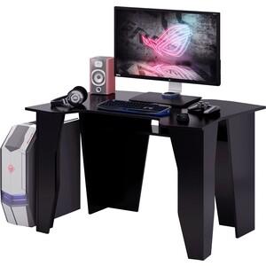 Стол компьютерный Мастер Страйкер (чёрный/чёрный) МСТ-СКС-ЧР-ЧР-16