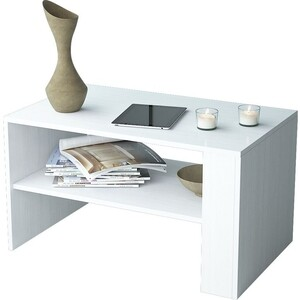 Журнальный стол Мастер Арто-21 (белый) МСТ-СЖА-21-БТ-16