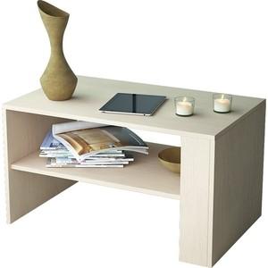 Журнальный стол Мастер Арто-21 (дуб молочный) МСТ-СЖА-21-ДМ-16 журнальный стол овальный висан стол журнальный ретро м молочный дуб