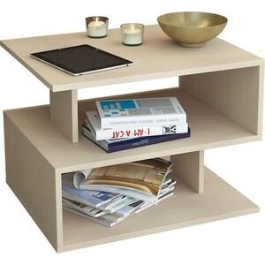 Журнальный стол Мастер Арто-22 (дуб молочный) МСТ-СЖА-22-ДМ-16 журнальный стол овальный висан стол журнальный ретро м молочный дуб