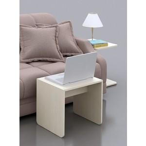 Журнальный стол Мастер Арто-25 (дуб молочный) МСТ-СЖА-25-ДМ-16 журнальный стол овальный висан стол журнальный ретро м молочный дуб