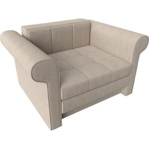 Кресло-кровать АртМебель Берли рогожка бежевый