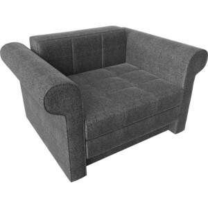 Кресло-кровать АртМебель Берли рогожка серый