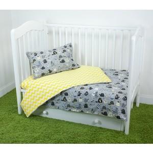 Комплект постельного белья для малышей Magic City Вечерние коты КПБМР-ББ-001