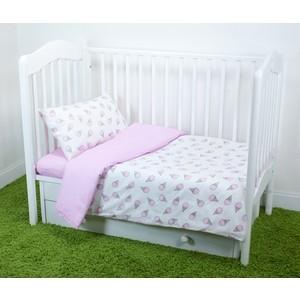Комплект постельного белья для малышей Magic City Розовый десерт КПБМР-ББ-003