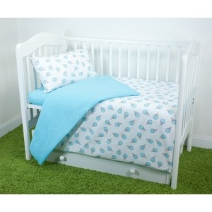 цена на Комплект постельного белья для малышей Magic City Мятный десерт КПБМР-ББ-004