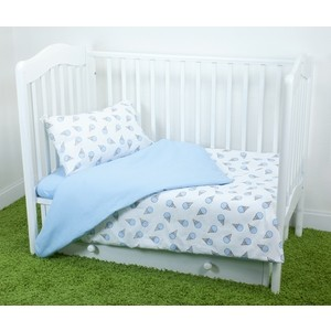 Комплект постельного белья для малышей Magic City Черничный десерт КПБМР-ББ-005