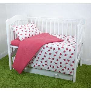 Комплект постельного белья для малышей Magic City Клубничный десерт КПБМР-ББ-008