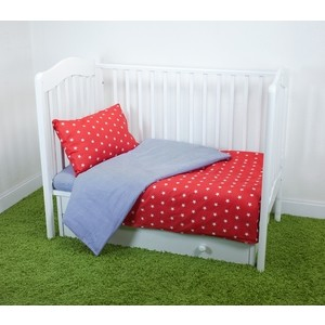 Комплект постельного белья для малышей Magic City Красное созвездие КПБМР-ББ-012