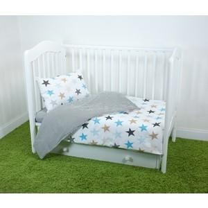 цена на Комплект постельного белья для малышей Magic City Белое созвездие КПБМР-ББ-014