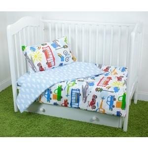 Комплект постельного белья для малышей Magic City Час пик КПБМР-ПБ-016