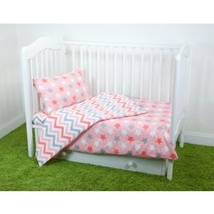 Комплект постельного белья для малышей Magic City Розовое созвездие КПБМР-ПП-018